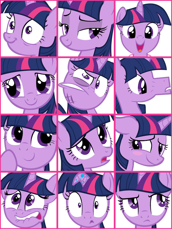 Twilight Sparkle 表情集